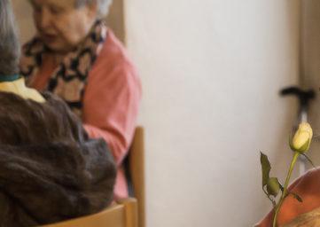 Gemütliches Zusammensein der Senioren in Baden