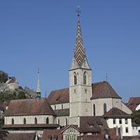 Stadtkirche Maria Himmelfahrt von der Hochbrücke gesehen
