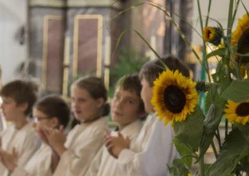 Ministranten in der Stadtkirche
