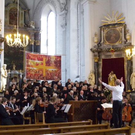 Kirchenmusik mit Chören