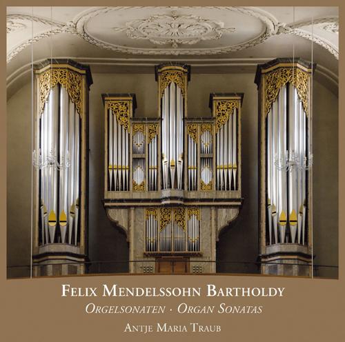Cover CD Orgelsonaten op. 65