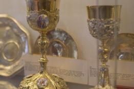Exponate im Kirchenschatzmuseum Baden