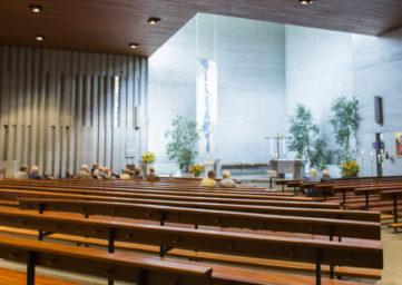 Innenraum Kirche St. Michael Ennetbaden
