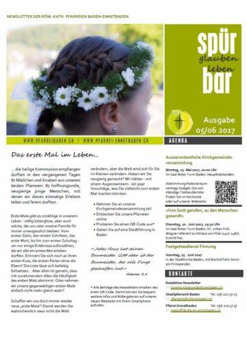 Newsletter Ausgabe 05/06 2017