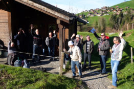 Arbeitseinsatz Kolping in Habkern 2016