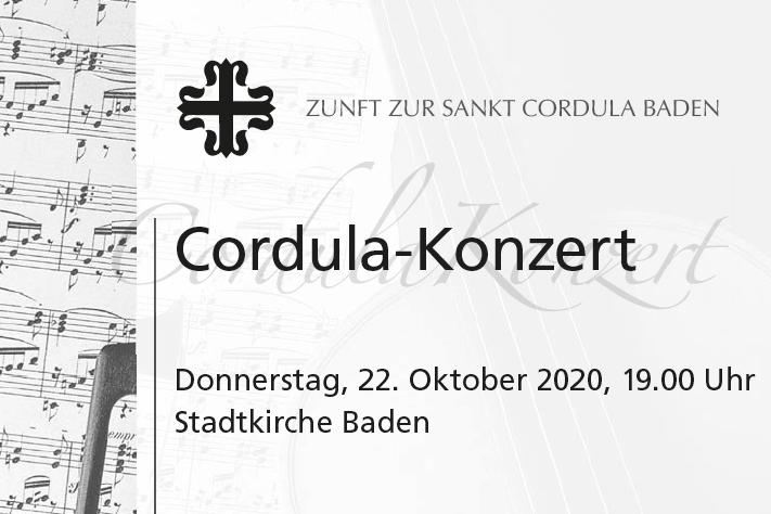 ABGESAGT: Cordula-Konzert