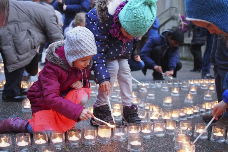 Ein Zeichen für eine solidarische Schweiz gesetzt