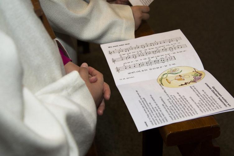 Erstkommunionfeiern in unseren Pfarreien