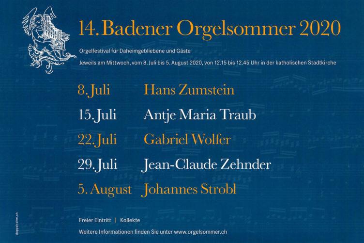 Badener Orgelsommer