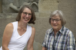 Porträt Petrea Bruce und Zita Keller