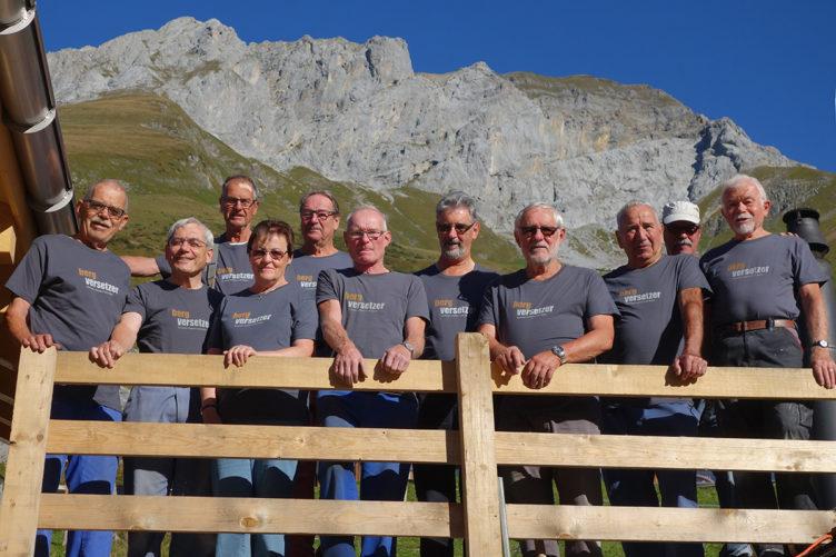 Modernisierung der Alpkäserei Surenen  mit tatkräftiger Unterstützung aus dem Aargau