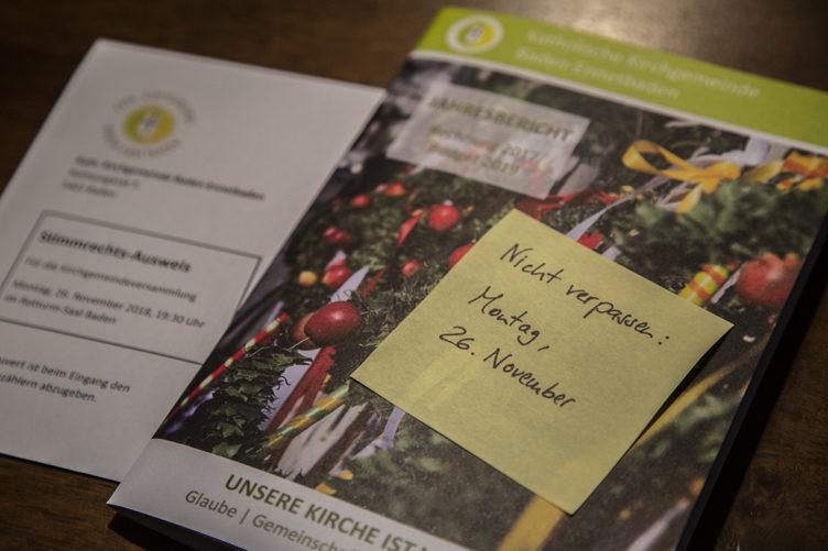 Einladung zur Kirchgemeindeversammlung 2018