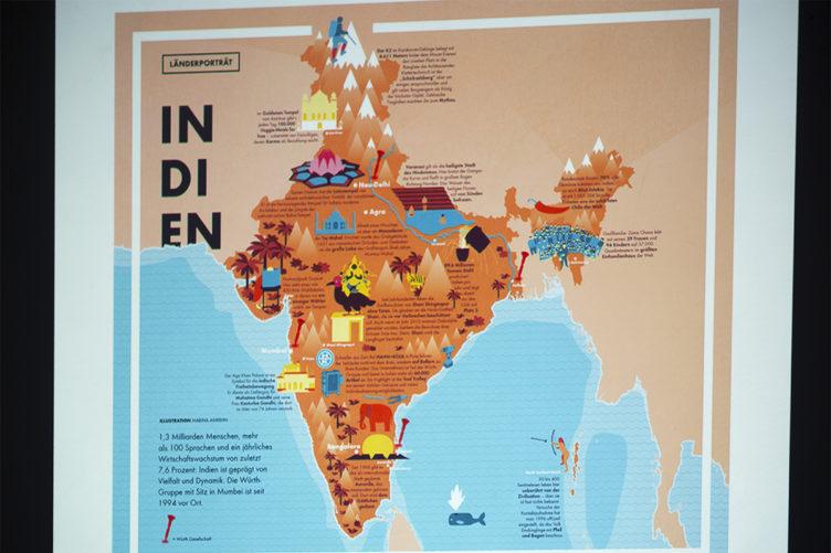 Kulinarische Reise nach Indien