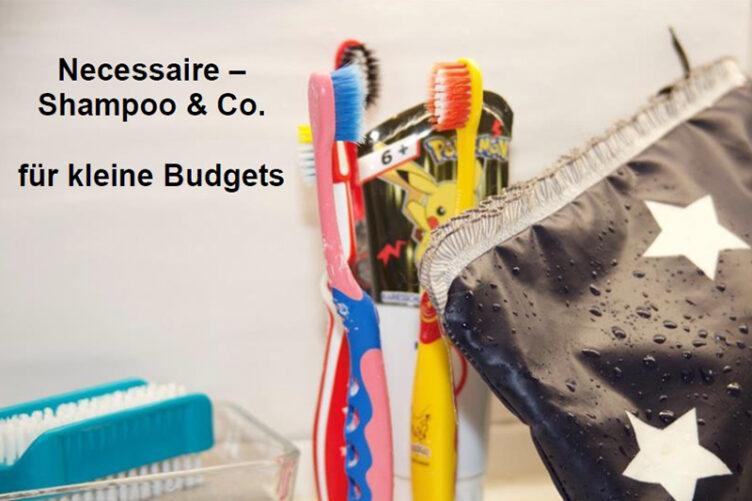 Hygieneartikel des täglichen Bedarfs für kleine Budgets