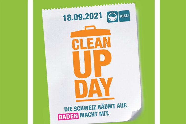 Clean-Up-Day: Gemeinsames Engagement für eine saubere Schweiz