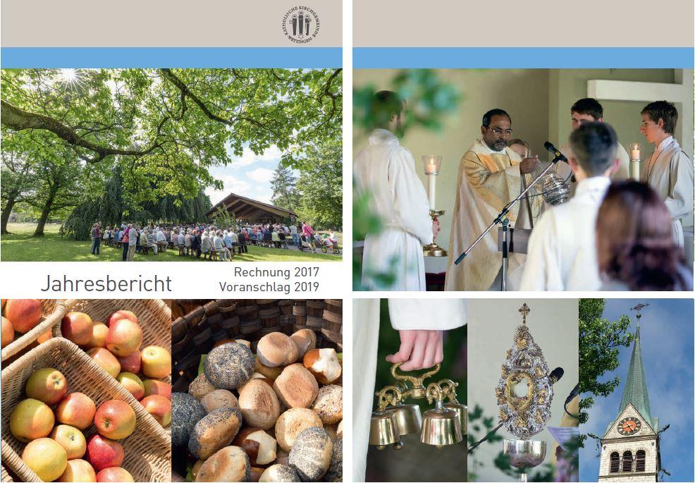 Broschüre Kirchgemeindeversammlung 2018