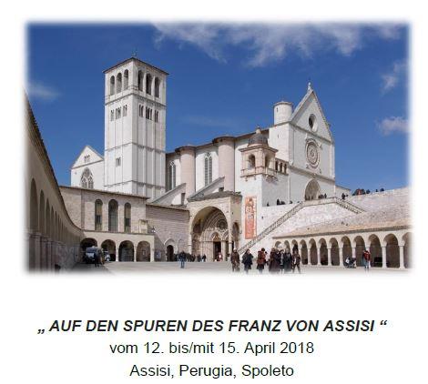 Pfarreiwallfahrt: «Auf den Spuren des Franz von Assisi»