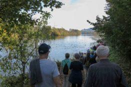 Rentierwanderung 8/2017  Wettinger Stausee 10