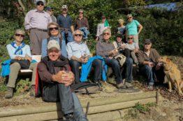 Rentierwanderung 8/2017  Wettinger Stausee 21