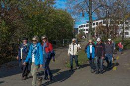 Rentierwanderung 8/2017  Wettinger Stausee 2