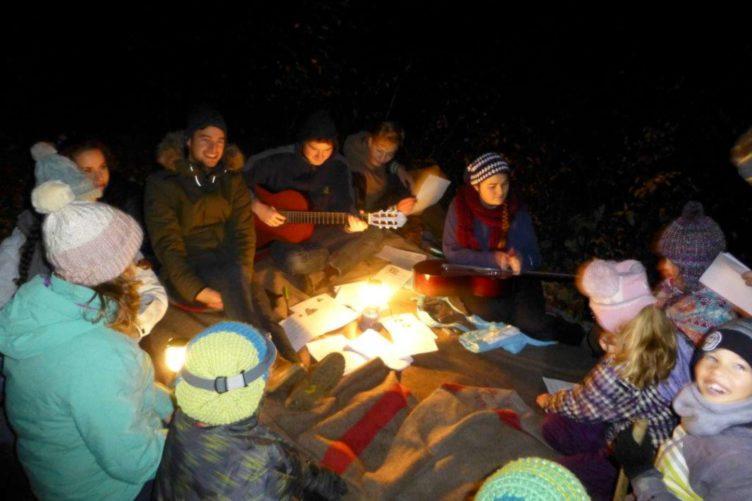 Waldweihnachten mit Jungwacht und Blauring St. Anton Wettingen