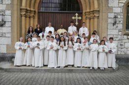 Rückblick Erstkommunion 2018 - Pfarrei St.Sebastian 30
