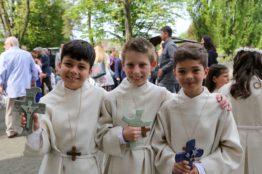 Rückblick Erstkommunion 2018 - Pfarrei St.Sebastian 33