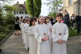 Rückblick Erstkommunion 2018 - Pfarrei St.Sebastian 3