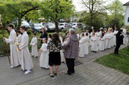 Rückblick Erstkommunion 2018 - Pfarrei St.Sebastian 4