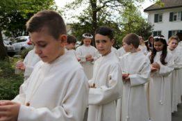Rückblick Erstkommunion 2018 - Pfarrei St.Sebastian 5