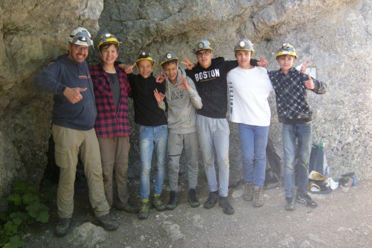 Abenteuer Nidlenloch – Firmgruppe St.Anton