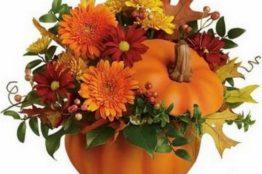 Herbstlicher Blumenzauber