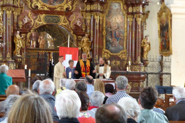 Ökumenischer Gottesdienst – 16. September 2018 in der Klosterkirche Wettingen