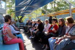 Vereinsausflug der Frauengemeinschaft St. Sebastian zum Rheinfall und zur Insel Mainau 2
