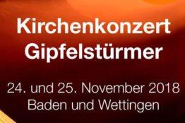Kirchenkonzert Blasorchester Baden-Wettingen