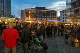 Chlauseinzug auf dem Zentrumsplatz Wettingen 16