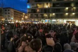 Chlauseinzug auf dem Zentrumsplatz Wettingen 24