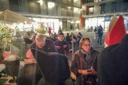 Chlauseinzug auf dem Zentrumsplatz Wettingen 29