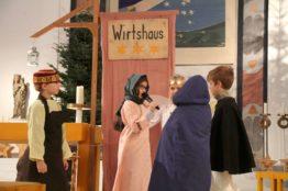 Krippenspiel an Heiligabend in St. Anton 13