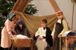 Krippenspiel an Heiligabend in St. Anton 15