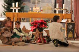 Krippenspiel an Heiligabend in St. Anton 16
