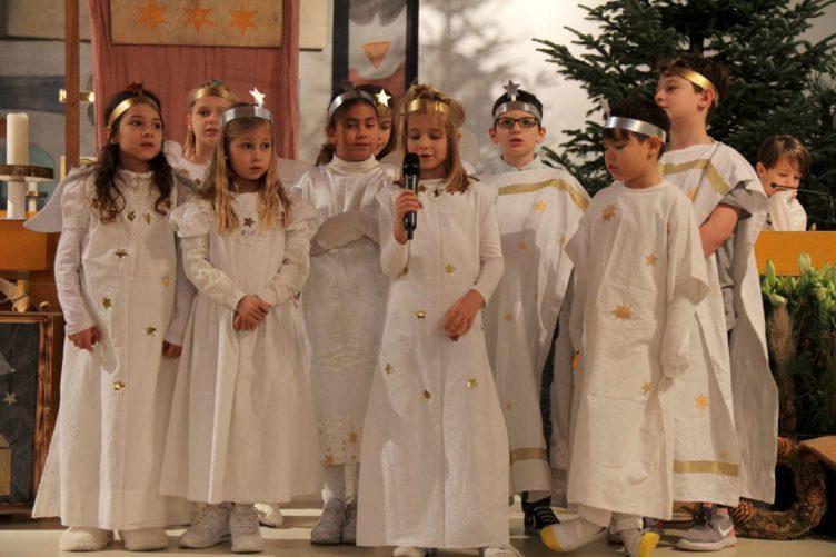 Krippenspiel an Heiligabend in St. Anton