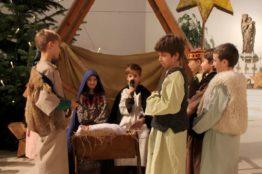 Krippenspiel an Heiligabend in St. Anton 21