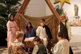 Krippenspiel an Heiligabend in St. Anton 22