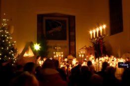 Krippenspiel an Heiligabend in St. Anton 2