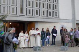 Palmsonntag in der Pfarrei St. Anton