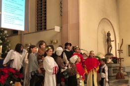 Krippenspiel vom 24. Dezember 2019 in St.Sebastian