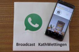 WhatsApp-Broadcast: «Impulse, die gut tun!»