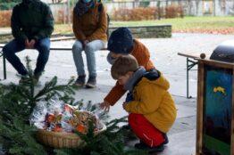 Kinder besuchen den Samichlaus 6