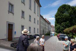 """Rentier-Spaziergang  vom 2. Juni 2021 """"Klostergärten"""" Muri 4"""